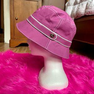 Y2K Pink Coach Bucket Hat